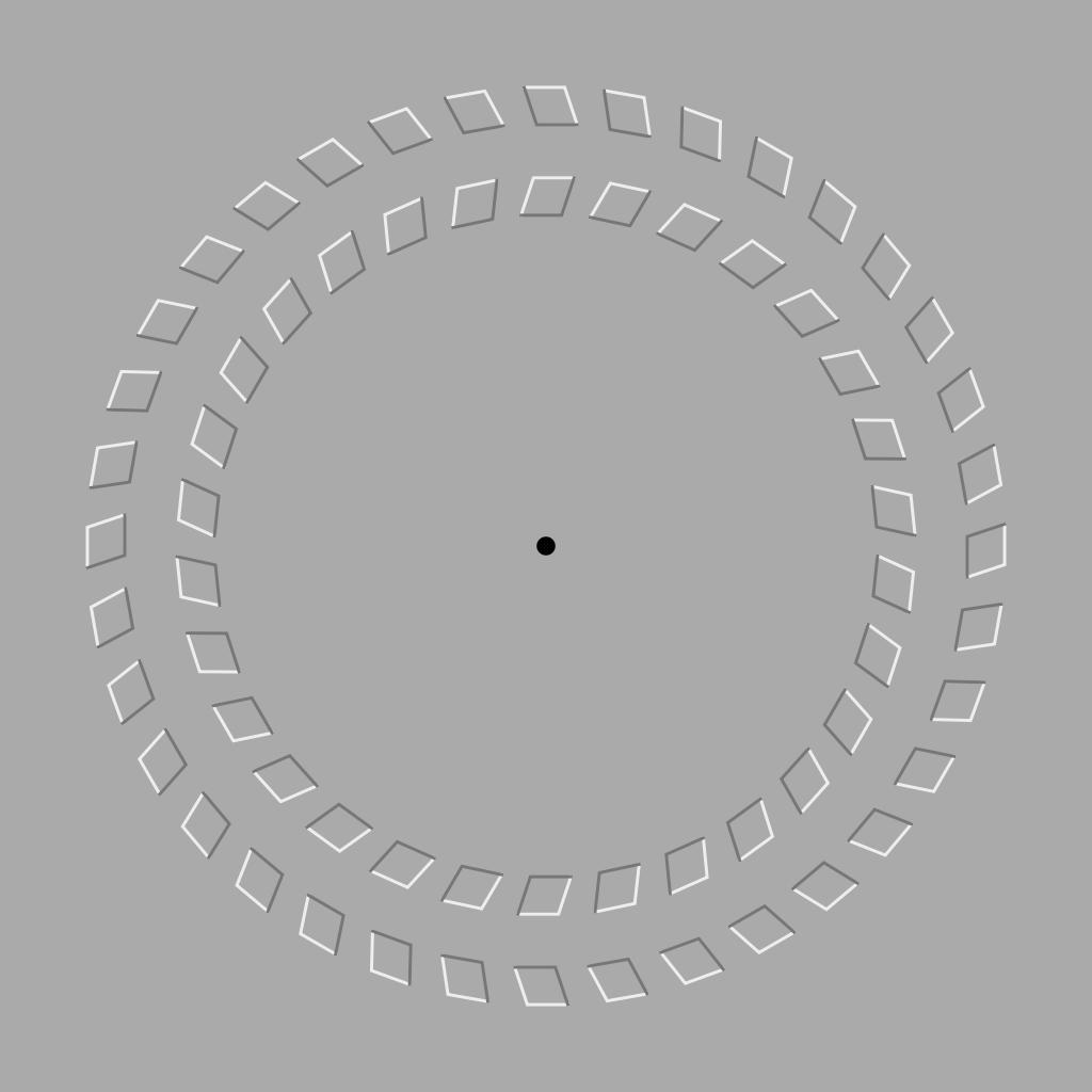 optik illüzyon ileri geri