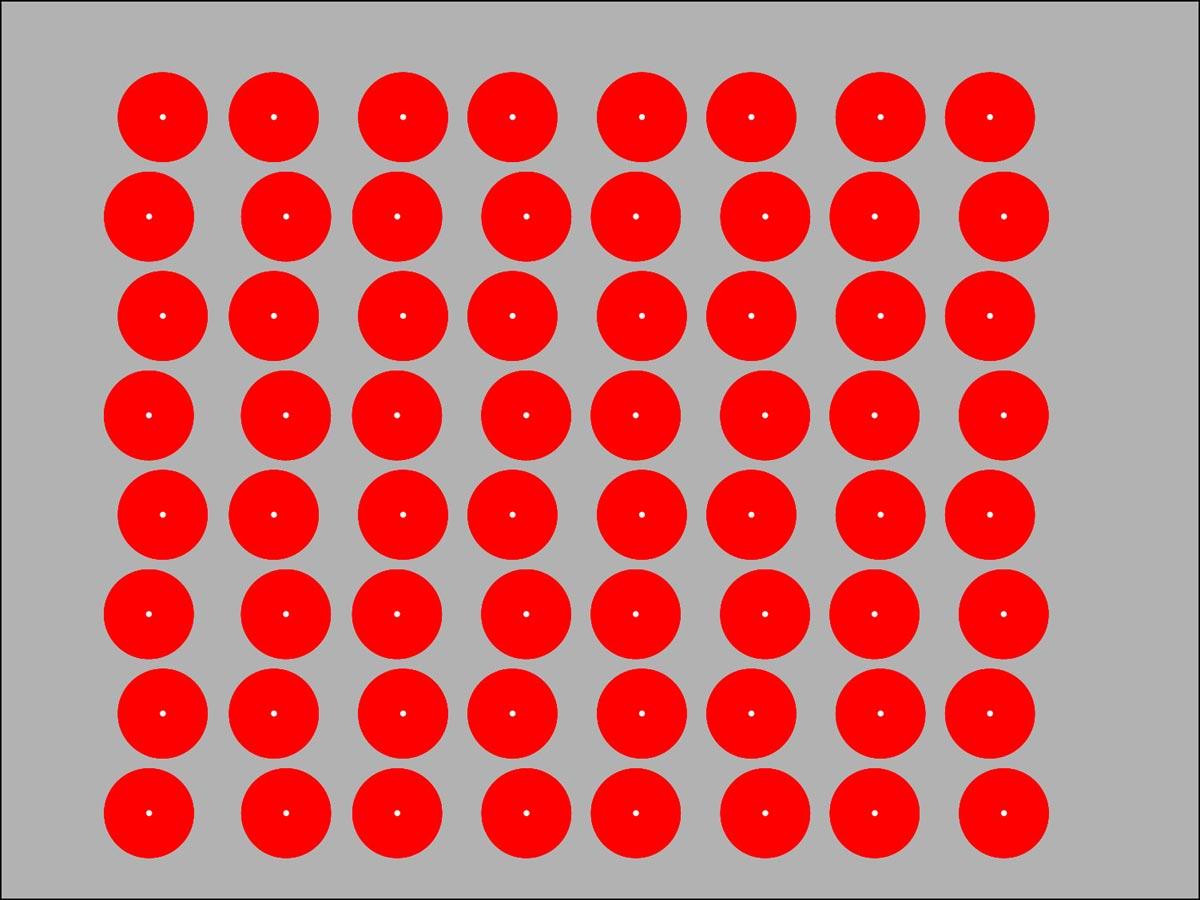 optik illüzyon dağınık