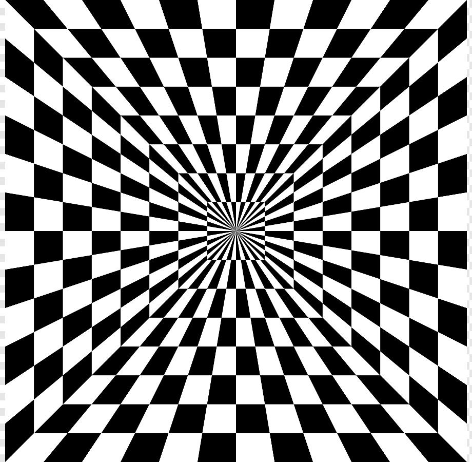 optik illüzyon tünel